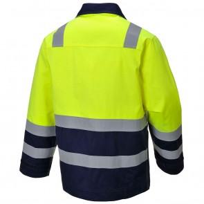Modaflame™ Hi Vis Flame Resistant Anti Static Jacket