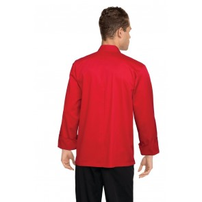 Chef Works Nantes Red Chef Jacket