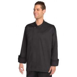 Chef Works New Yorker Black Cool Vent Chef Jacket