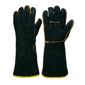 Black and Gold Welders Glove