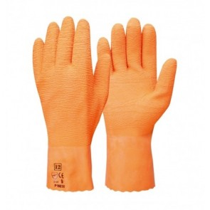 Ruffy Orange Latex Grip