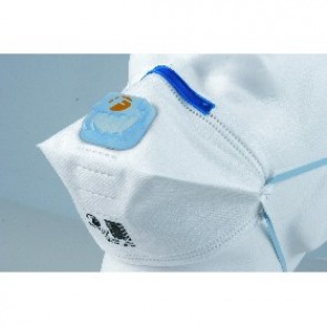 P2 Disposable Crossfold Valved Respirator