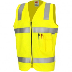DNC Patron Saint® Hi Vis Flame Retardant Safety Vest with 3M F/R Tape