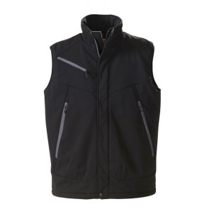 James Harvest Unisex Backcountry Vest - Black