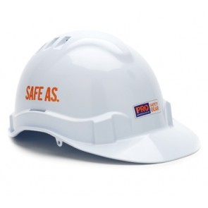 Pro Choice Vented Hard Hat V6 - White