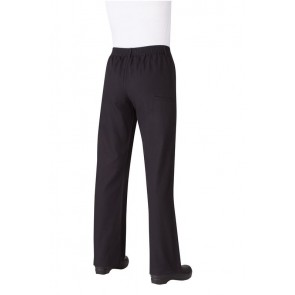 Chef Works Professional Women's Black Chef Pants