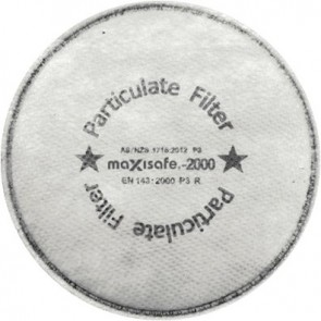 Maxisafe Half Mask Silicone General Purpose Kit
