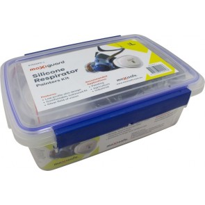 Maxisafe Half Mask Silicone Painters Kit