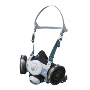 MaxiPak RX01 Silicone Half Mask Respirator Painter's Kit