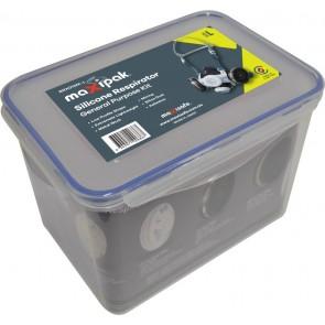 Maxisafe RX01 Silicone Half Mask Respirator General Purpose Kit