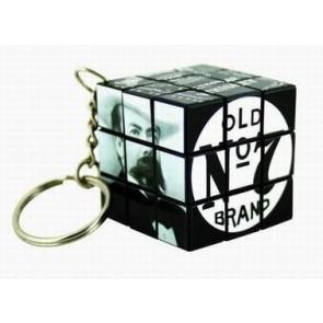 Rubiks Cube Keyring Custom 3x3 34mm