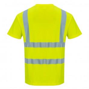 Portwest Hi Vis T Shirt Yellow