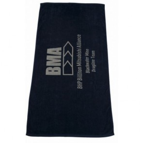 Signature Beach Towel Printed