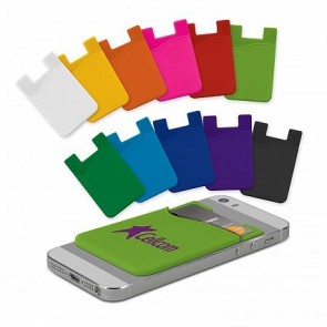 Silicone Phone Wallet Screen Print