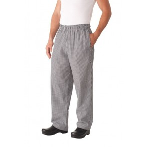 Chef Works Small Check Baggy Chef Pants