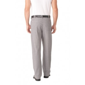 Chef Works Small Check Fitted Chef Pant