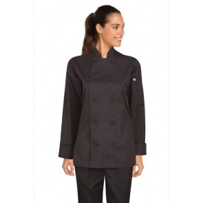Chef Works Sofia Black Women's Lite Chef Jacket