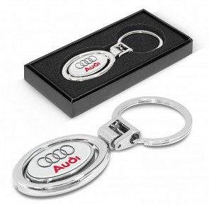 Trend Collection Spinning Metal Key Ring