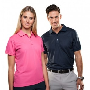 Sporte Liesure Aero Polo - Hot Pink and French Navy
