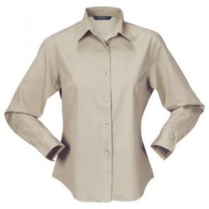 Stencil Ladies Nano Shirt 3/4 Sleeve - Beige