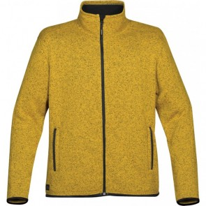 Stormtech Mens Donegal Full Zip Jacket - Maize