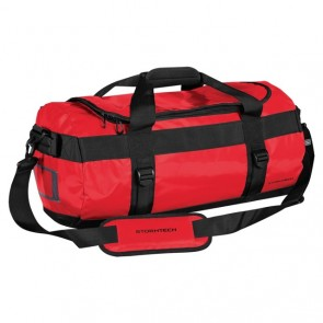 Stormtech Waterproof Gear Bag Small - Bold Red Black