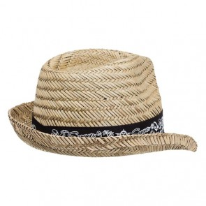 Legend Straw Fedora Hat