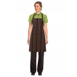 Chef Works Striped Bib Apron