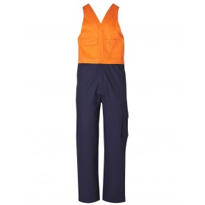Australian Industrial Wear Men's Two Tone Action Back Overall