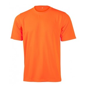 Australian Industrial Wear Unisex Hi Vis Mini Waffle Safety T Shirt
