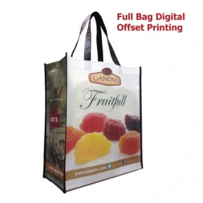 Non Woven Tote Bag Large Gusset - Print Set Up Fee