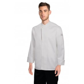 Chef Works Trieste White 100% Cotton Chef Jacket