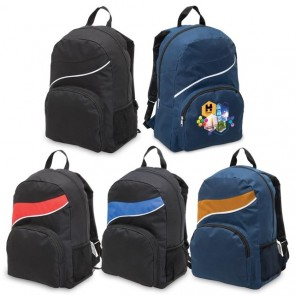 Legend Twist Backpack - All Colours Decorated