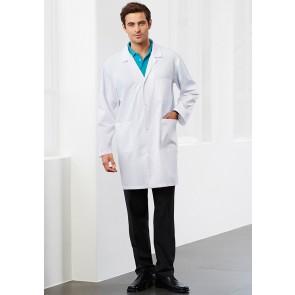 Biz Collection Unisex Classic Lab Coat - Model White