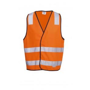 Blue Whale Hi Vis Day Night Safety Vest H Pattern