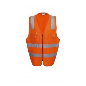 Blue Whale Hi Vis Day Night H Pattern Executive Safety Vest