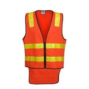 Hi Vis Vic Road Budget Safety Day/Night Vest 135gsm