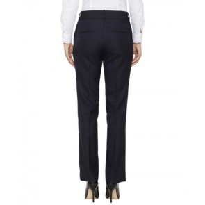 Van Heusen Womens High Twist Wool Rich Flat Front Suit Trouser