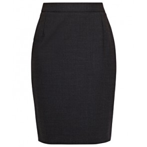Van Heusen Womens Stretch Wool Blend Plain Weave Skirt