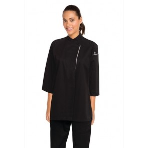 Chef Works Verona Black Women's Chef Jacket