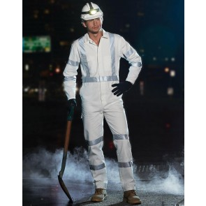 Australian Industrial Wear Men's Biomotion Nightwear Coverall With X Back Tape Configuration