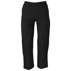 JBs wear Kids and Adults Warm Up Zip Pants - Black