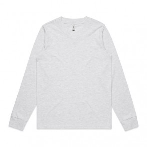 AS Colour WO's Diced Long Sleeve Tee - Ash Heather