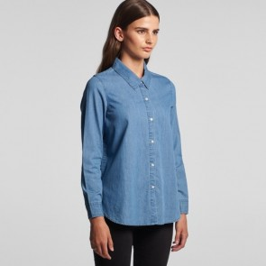AS Colour WO's Blue Denim Shirt