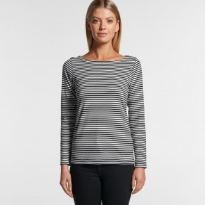 AS Colour WO's Bowery Stripe Long Sleeve Tee