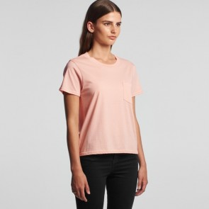 AS Colour WO's Square Pocket Tee