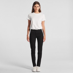 AS Colour Women's Standard Pants - Black Model Front