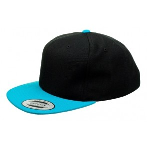 Yupoong Classic Youth - Black Aqua