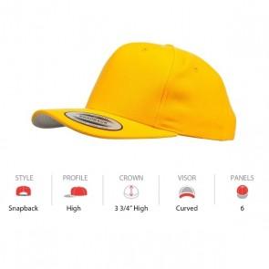 Yupoong Classic Snapback - Yellow Cap Key