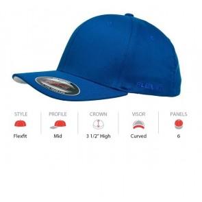 Flexfit Perma Curve Cap - Royal Specs